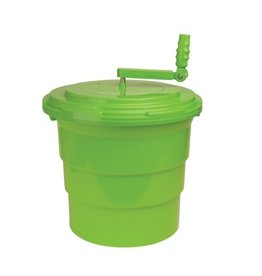 Winco Salad Spinner Dryer 5 Gallon Green
