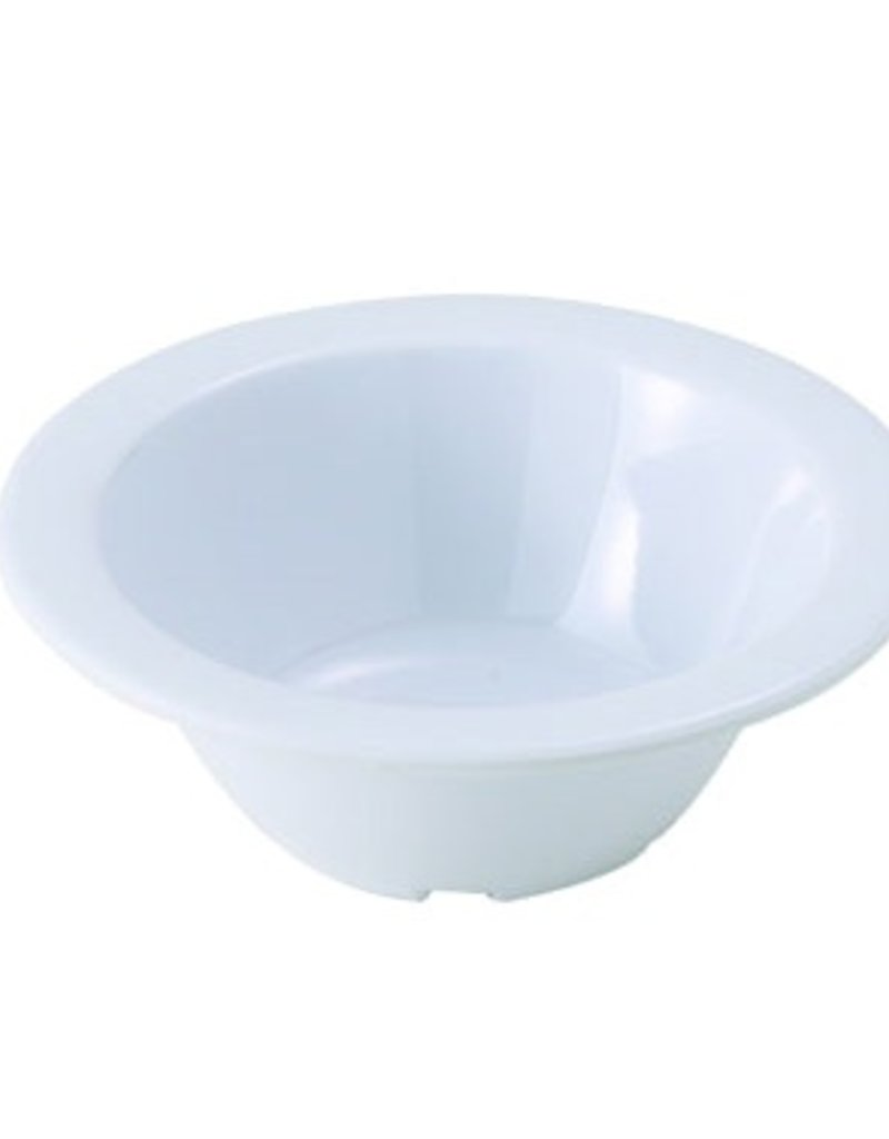 "Winco Fruit Bowl, 4 oz 4-3/4"" dia White melamine - 1 dz"