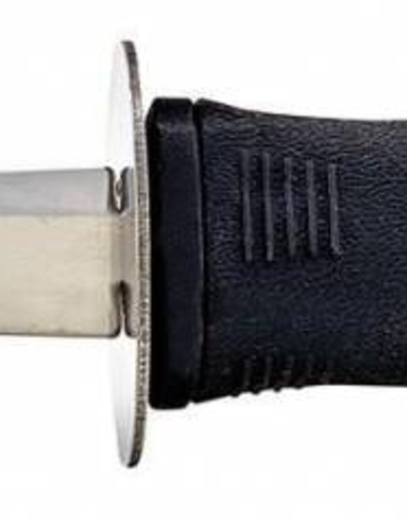 "Winco Oyster Knife, 7-5/8"" Soft Grip Handle"