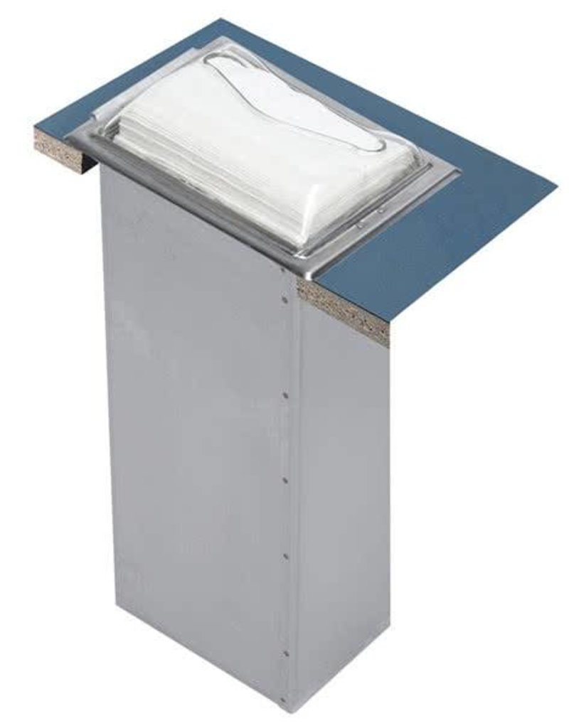 San Jamar, Inc Napkin Dispenser In-Counter Satin Chrome