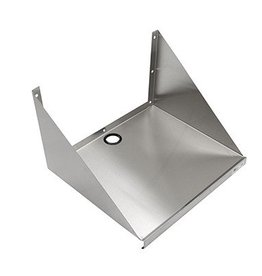 "John Boos & Co John Boos Microwave Shelf Wall Mount, 24"" x 20"" x 15"""