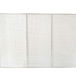 "Adcraft Adcraft DNS2323 Nickel Plated Donut Screen 23""x 23"""