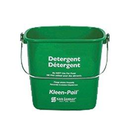 Kleen-Pail San Jamar KP196 GN Kleen-Pail 6 qt, Detergent Green