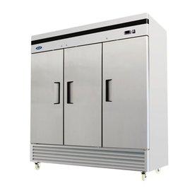 Atosa MBF8508- Bottom Mount (3) Three Door Refrigerator