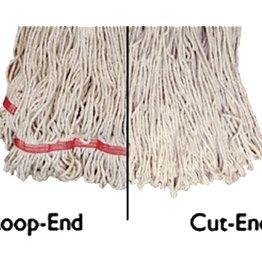 "Update Update MOP#32 Loop-End Mop Head 18-3/4"" x 6-3/4"" Polyester/Cotton"