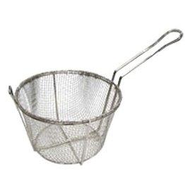 "Adcraft Adcraft BFW-1125 Fry Basket, 11-1/4"" dia x 6""  w/ front hook"