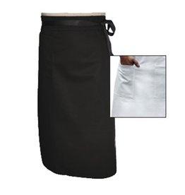 """Chef Revival Bistro Apron, 34"""" x 29"""" Black"""