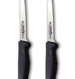 Adcraft - Advantage Series Adcraft Paring Knife, 3.25, Black Handle (2) per package