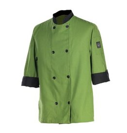 Chef Revival Chef Coat, Large. 3/4 sleeve, mint