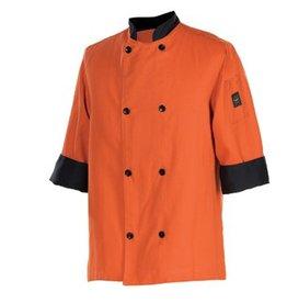 Chef Revival Chef Coat, Medium, 3/4 sleeve, spice