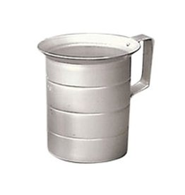 Winco Measuring cup, 4 quart (1 gallon) Aluminum