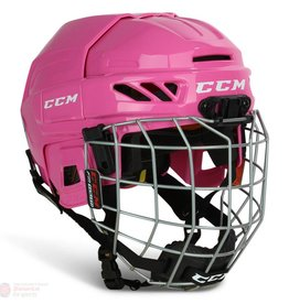 CCM Fitlite 3DS Helmet - Pink - YTH