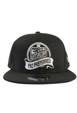 New Era Pro Preferred Hat - Black/Silver -