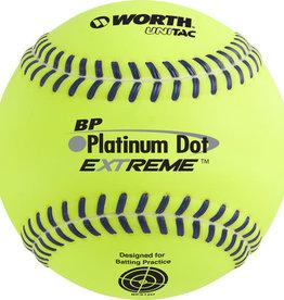Rawlings Platinum Dot Extreme™ Batting Practice Softballs (BPX12U) Dozen