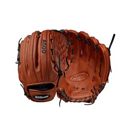 "Wilson A500 Baseball Glove - Cooper/Black - 12"""