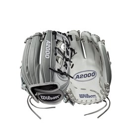 Wilson A2000 - Fastpitch Cross Web- Gray/White - 11.75""