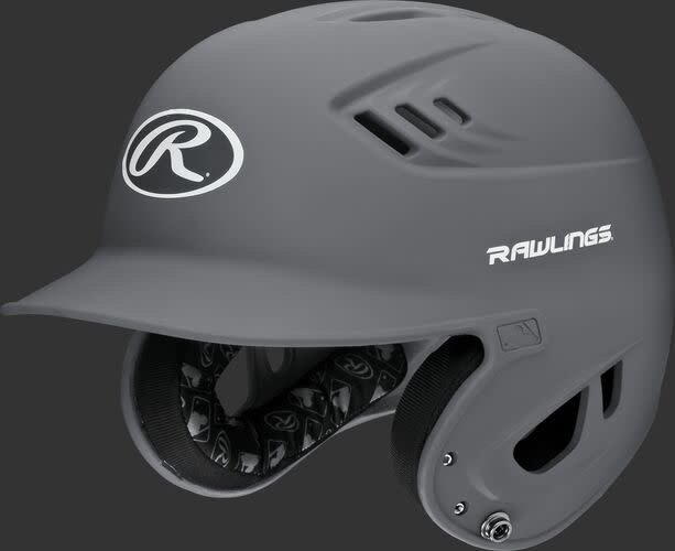Rawlings R16MJ Rawlings R16 Matte Helmet Junior Matte Black