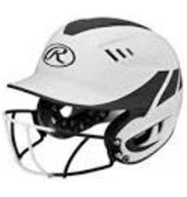 Rawlings Velo Helmet - 2-Tone w/ Cage Jr. -