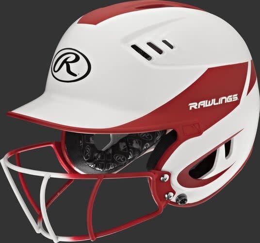 Rawlings Velo Helmet - 2-Tone w/ Cage Sr. -
