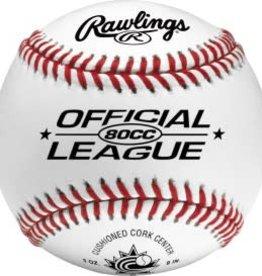 Rawlings 80CC  League Game Ball - Dozen