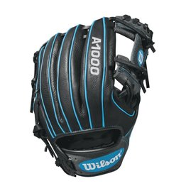 Wilson A1000 1788 Black/Gray/Trop Blue - 11.25""