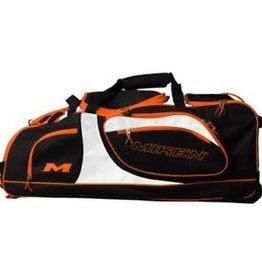 Rawlings Miken Championship Wheeled Bag Black / Org