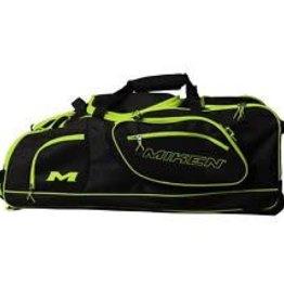 Rawlings Miken Championship Wheeled Bag Blk/Green