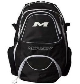 Rawlings Miken XL Backpack - holds 4 Bats - Black/White