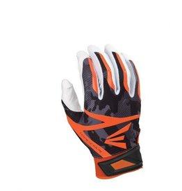 EASTON (CANADA) Z7 - Hyperskin Batting Gloves -  WH/BK/OR - L