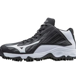 mizuno 9-SPIKE ADVANCED ERUPT 3 MID  - Black/White -