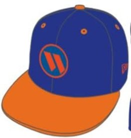 New Era Worth Hat - Royal/Orange