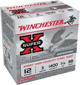 "Winchester Winchester Expert Steel 12GA 3""1.1/4oz BB  WEX123HBB"