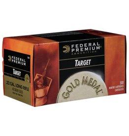 Federal Federal Premium 22 LR 40gr Solid Gold Medal Target (711b)