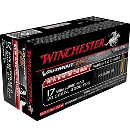 Winchester Winchester 17 WSM 20gr Varmint HV 50rd box (S17W20)