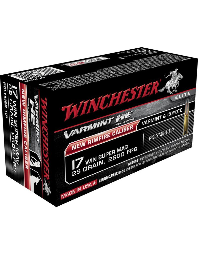 Winchester Winchester 17 WSM 25gr Varmint HE (S17W25)