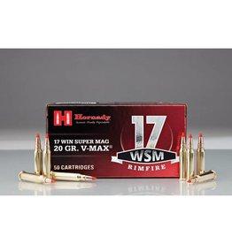 Hornady Hornady 17 WSM 20gr V-MAX 50rd box (83180)