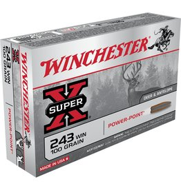 Winchester Winchester 243 Win 100gr Super X Power Point (X2432)
