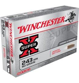 Winchester Winchester 243 Win 80gr JSP PSP (X2431)