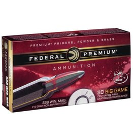 Federal Federal Premium 338 Win Mag 210gr Nosler Partition (P338A2)