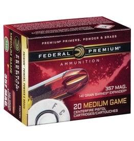 Federal Federal Premium 357 Mag 140gr Barnes Expender (P357XB1)