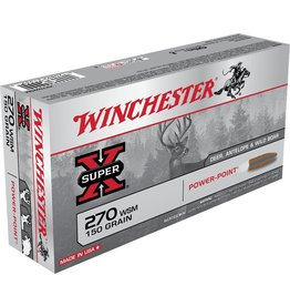Winchester Winchester 270 WSM 150gr Power Point (X270WSM)