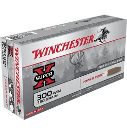 Winchester Winchester 300 WSM 180gr Super X  Power-Point (X300WSM)