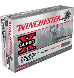 Winchester Winchester 6.5x55 Swedish 140gr Super X SP (X6555)