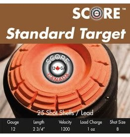 "Score Score Standard Target 12GA 1200fps 2.75"" #7.5 (12BTL71/2)"