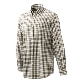 Beretta Beretta Classic Shirt  Long Sleeves XL Beige Check (LU210T1645019PXL)