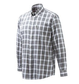 Beretta Beretta Classic Shirt long sleeves XL White & blue check