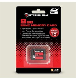STC Stealth Cam 8GB SD Memory Card STC-8GB