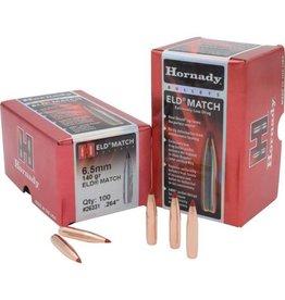 Hornady Hornady .264dia 6.5mm 140gr Eld Match 100ct Bullet (26331)