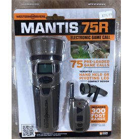 Western Rivers Western Rivers Mantis Electronic Predetor call w/Remote 75R WRC-GC75
