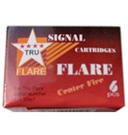 Tru Flare Tru Flare 15mm Signal Flares Red 6pk (20Red)